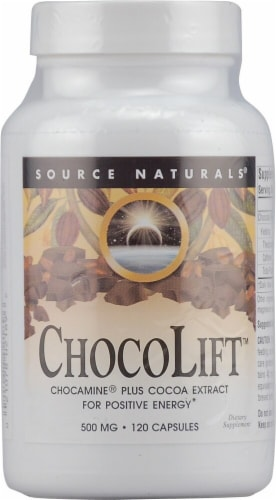 Source Naturals  ChocoLift™ Perspective: front