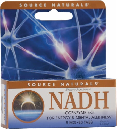 Source Naturals  NADH Perspective: front
