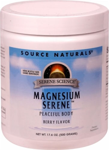 Source Naturals  Magnesium Serene™   Berry Perspective: front