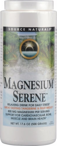Source Naturals  Magnesium Serene™   Tangerine & Fruit Medley Perspective: front
