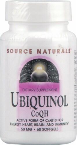 Source Naturals  Ubiquinol CoQH Perspective: front