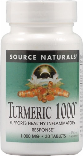 Source Naturals  Turmeric 1000™ Perspective: front