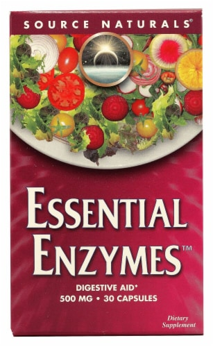 Source Naturals  Essential Enzymes Perspective: front