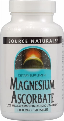 Source Naturals  Magnesium Ascorbate Perspective: front