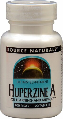 Source Naturals  Huperzine A Perspective: front