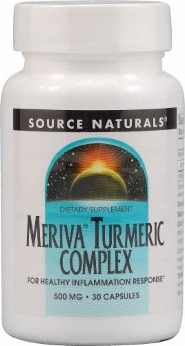 Source Naturals  Meriva® Turmeric Complex Perspective: front
