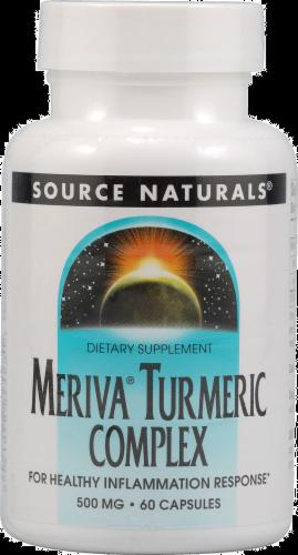 Source Naturals Mervina Turmeric 500 mg Caps Perspective: front
