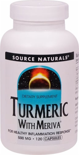 Source Naturals  Turmeric with Meriva® Perspective: front