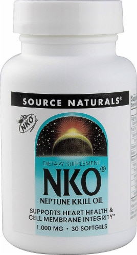 Source Naturals  NKO® Neptune Krill Oil Perspective: front