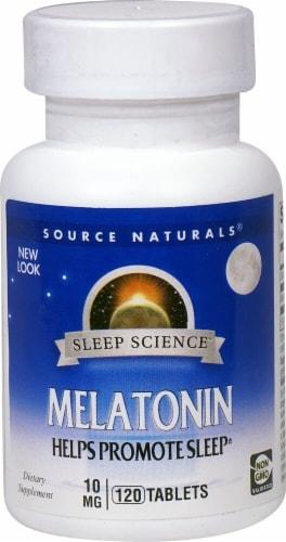 Source Naturals  Melatonin Perspective: front
