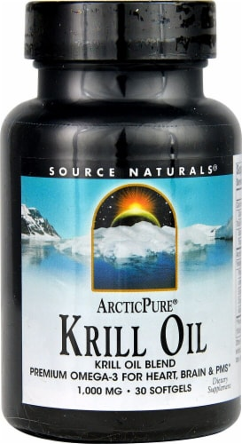 Source Naturals  ArcticPure® Krill Oil Perspective: front