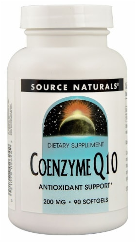 Source Naturals Coenzyme Q10 Softgels 200mg Perspective: front