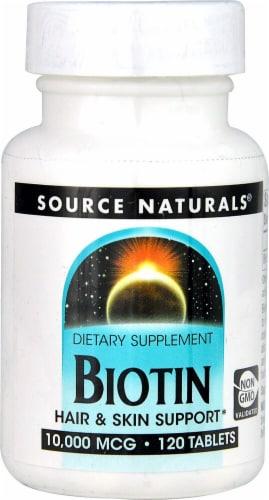 Source Naturals  Biotin Perspective: front