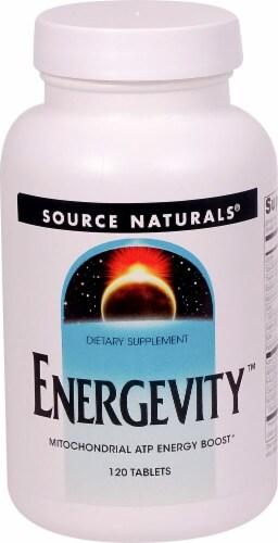 Source Naturals Energevity Perspective: front
