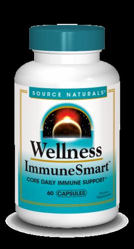 Source Naturals Wellness ImmuneSmart Capsules Perspective: front