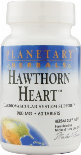 Planetary Herbals Hawthorn Heart™ Tablets 900 mg Perspective: front
