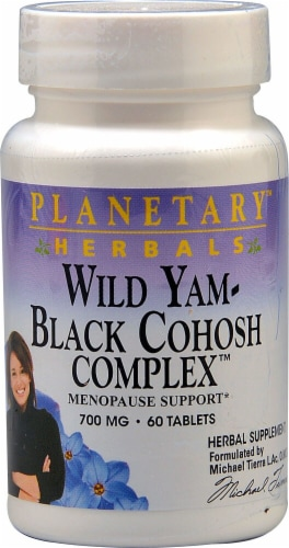 Planetary Herbals  Wild Yam - Black Cohosh Complex™ Perspective: front