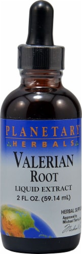Planetary Herbals Valerian Root Liquid Extract Perspective: front