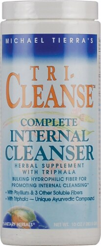 Planetary Herbals Tri-Cleanse Complete Internal Herbal Cleanser Perspective: front
