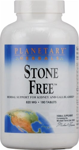 Planetary Herbals Stone Free™ Tablets 820 mg Perspective: front