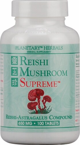 Planetary Herbals  Reishi Mushroom Supreme™ Perspective: front