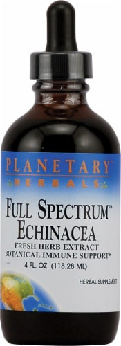 Planetary Herbals Full Spectrum™ Echinacea Herbal Supplement Perspective: front