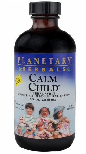 Planetary Herbals Calm Child Herbal Liquid Perspective: front