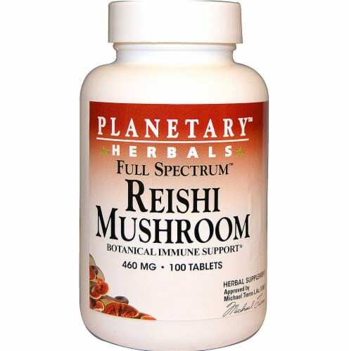 Planetary Herbals  Full Spectrum™ Reishi Mushroom Perspective: front