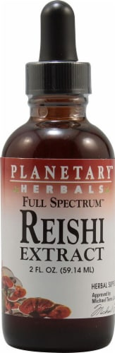 Planetary Herbals  Full Spectrum™ Reishi Extract Drops Perspective: front