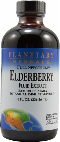 Planetary Herbals Full Spectrum™ Elderberry Fluid Extract Perspective: front