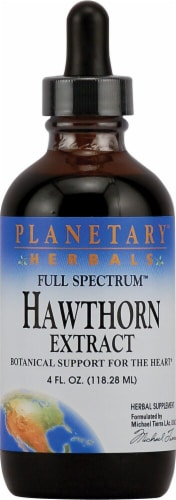 Planetary Herbals Full Spectrum™ Hawthorn Extract Perspective: front