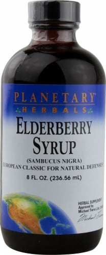Planetary Herbals Elderberry Syrup Perspective: front