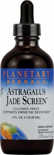 Planetary Herbals Astragalus Jade Screen Supplement Perspective: front
