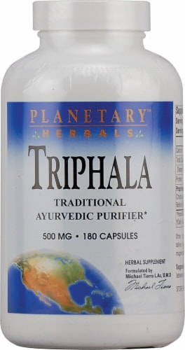 Planetary Herbals  Triphala Perspective: front