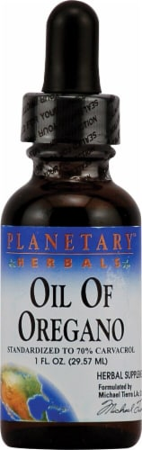 Planetary Herbals Oil Of Oregano Herbal Supplement Perspective: front