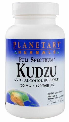 Planetary Herbals Full Spectrum™ Kudzu Tablets 750 mg Perspective: front