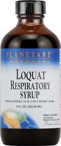 Planetary Herbals Loquat Respiratory Syrup Perspective: front