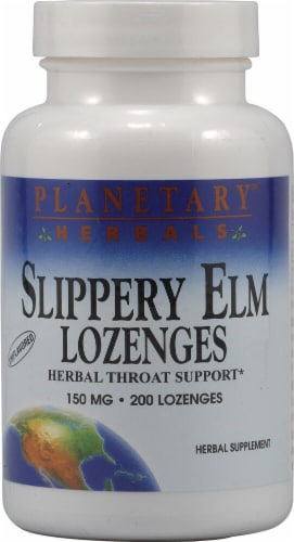 Planetary Herbals Slippery Elm Lozenges 150 mg Perspective: front