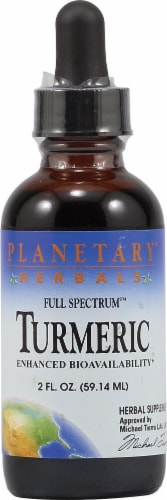 Planetary Herbals Full Spectrum Turmeric Extract Perspective: front