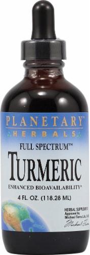Planetary Herbals Full Spectrum™ Turmeric Herbal Supplement Perspective: front