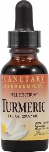 Planetary Herbals Full Spectrum™ Ayurvetics Turmeric Herbal Supplement Perspective: front