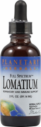 Planetary Herbals Lomatium Herbal Supplement Perspective: front