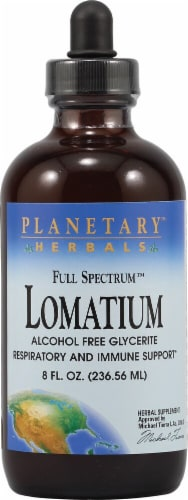 Planetary Herbals Full Spectrum Lomatium Perspective: front