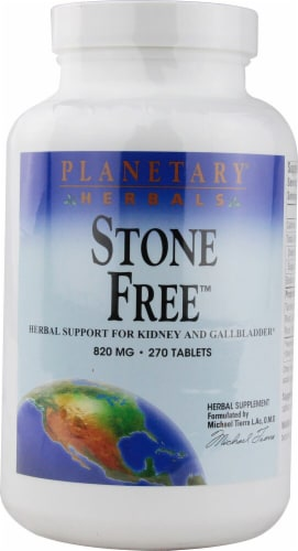 Planetary Herbals Stone Free Tablets 820 mg Perspective: front