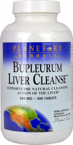 Planetary Herbals Bupleurum Liver Cleanse™ Tablets 545 mg Perspective: front