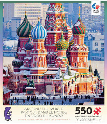 Ceaco Around the World 550-Piece Puzzle Perspective: front