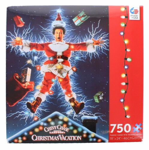 Christmas Vacation 750 Piece Christmas Jigsaw Puzzle Perspective: front