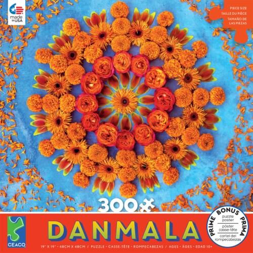 Ceaco Orange Danmala Puzzle Perspective: front