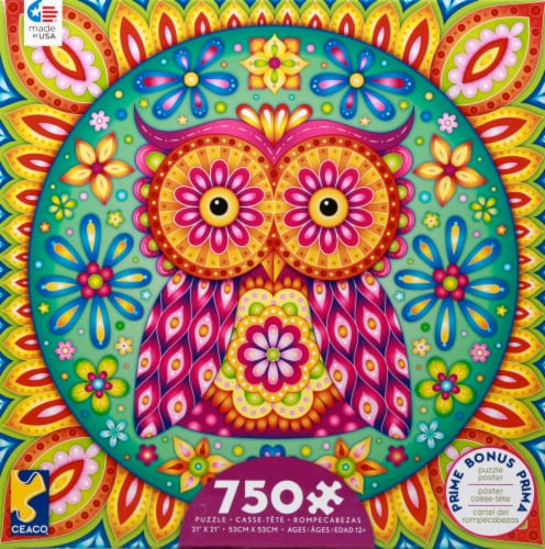 Ceaco Groovy Puzzle Poster 750 Piece Perspective: front