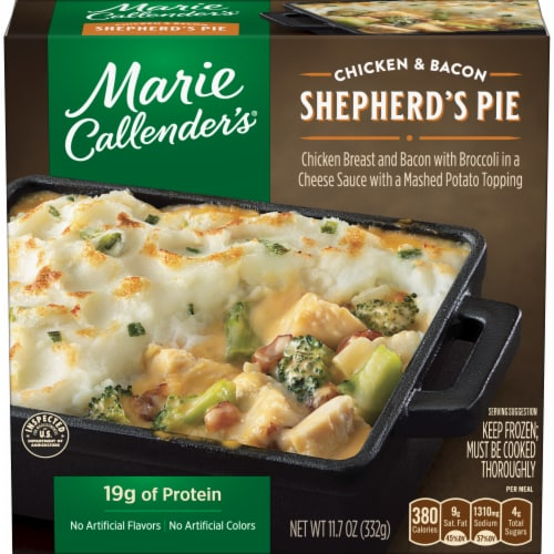 Marie Callender's Chicken & Bacon Shepherd's Pie Perspective: front